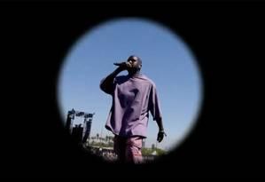 Kanye West no Coachella Foto: Reprodução/YouTube