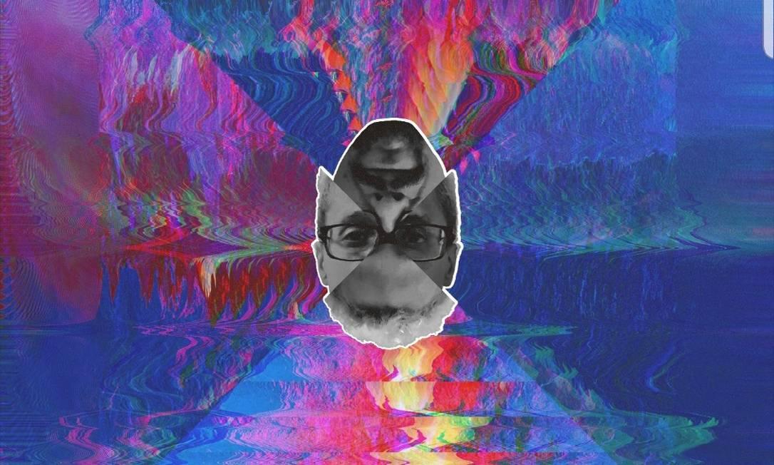 Parte da capa de 'Abaixo de zero: Hello hell', novo disco de Black Alien Foto: Divulgação/Parteum