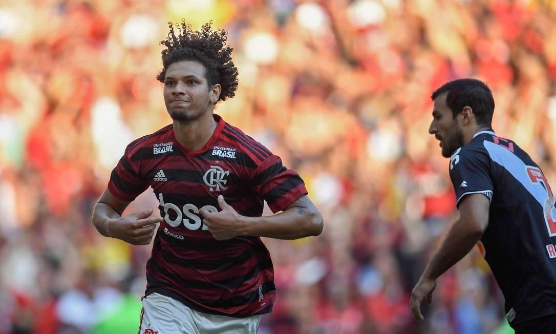 Willian Arão está liberado para jogar na primeira rodada do Brasileirão 2019 Foto: MAURO PIMENTEL / AFP