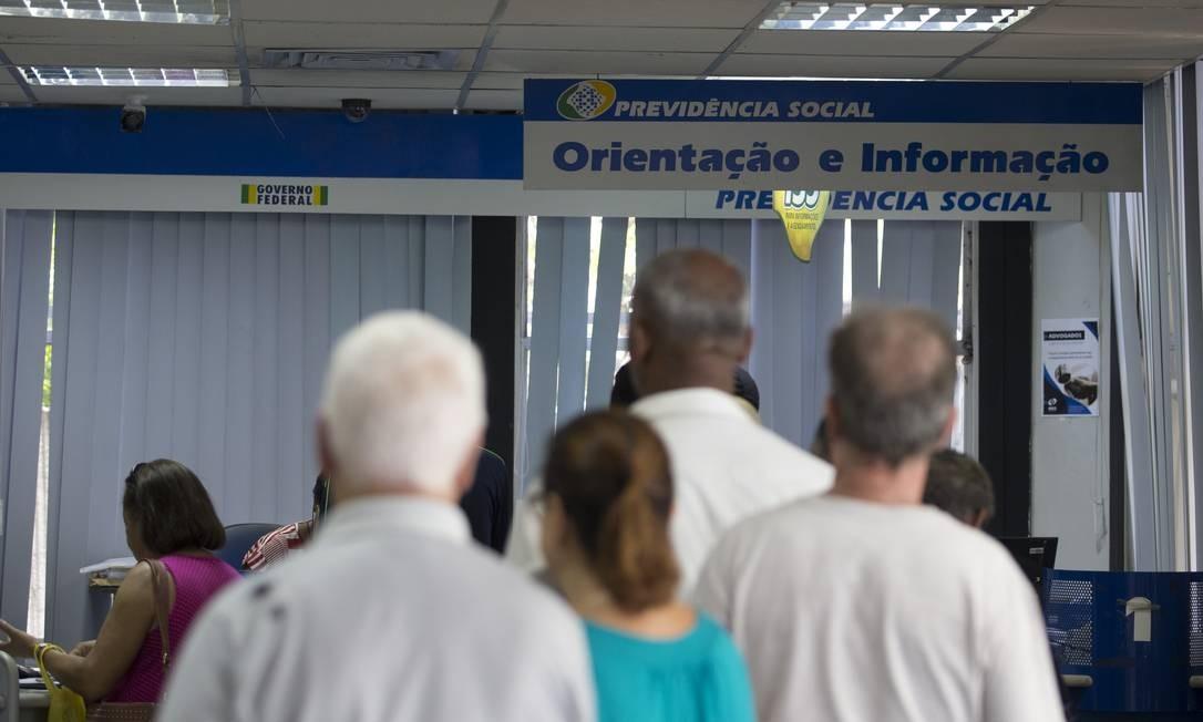 Agência da Previdência Social no Méier, zona Norte do Rio Foto: Márcia Foletto / Agência O Globo
