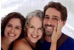 A economista Helena Taliberti e os filhos, Luiz e Camila, que morreram na pousada Nova Estância, engolida pela lama da barragem da Vale em Brumadinho Foto: Foto de família