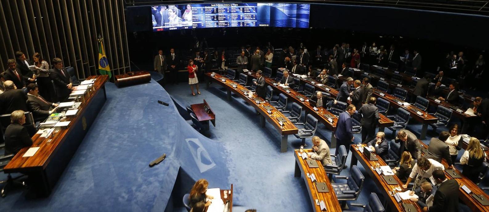 Caso alcance 20 mil apoios, ideia será enviada ao Senado Foto: Jorge William / Agência O Globo