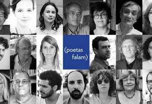 """""""Oficina Irritada (poetas falam)"""" iria reunir """"importantes nomes da poesia contemporânea brasileira"""", nas palavras da organização do evento Foto: Reprodução / Internet"""