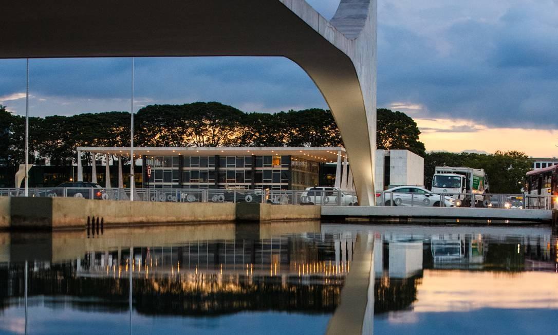 Fachada do STF em Brasília Foto: Daniel Marenco / Agência O Globo