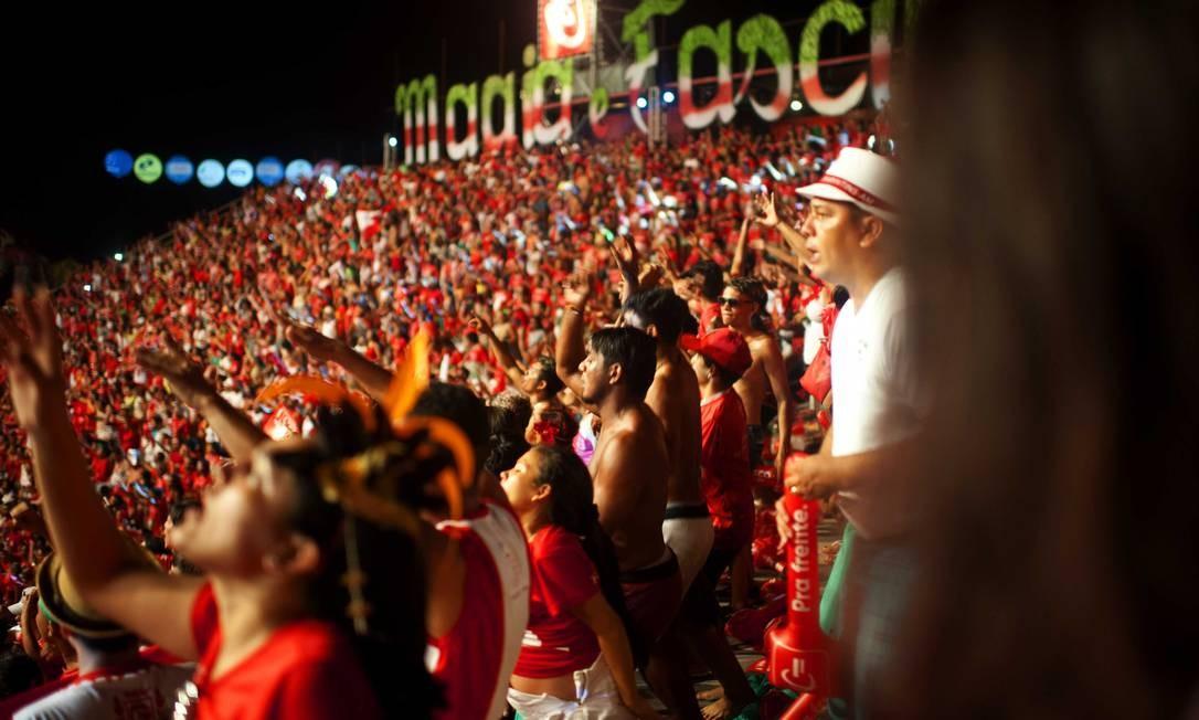 Festas populares, como o Festival de Parintins, no Amazonas Foto: Emiliano Capozoli / Divulgação