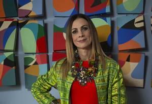 A autora Paula Acioli Foto: Guito Moreto/Agência O Globo
