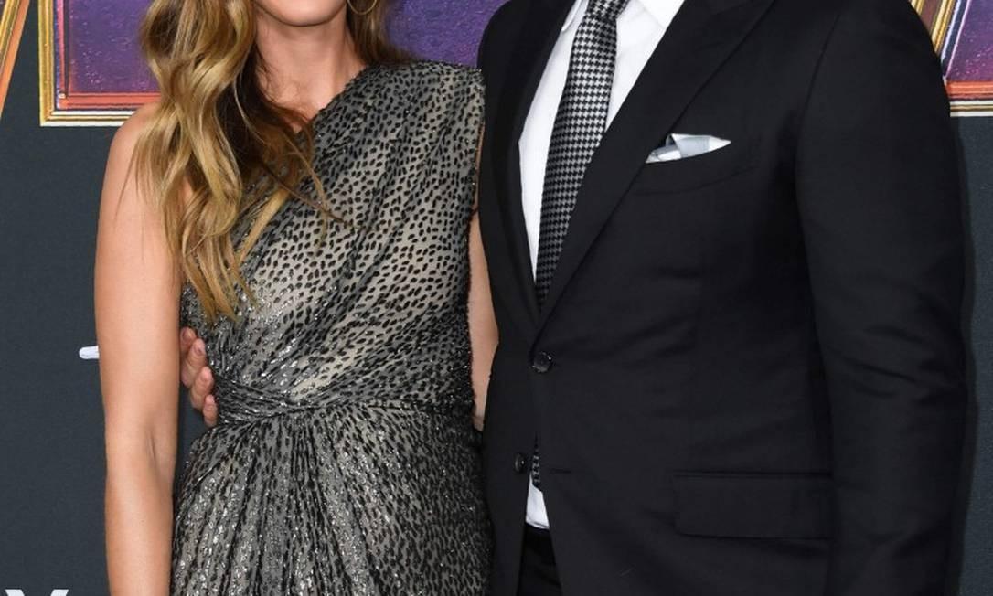 Chris Pratt e Katherine Schwarzenegger Foto: VALERIE MACON / AFP