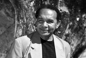 O poeta Salgado Maranhão. Desde 2007, ele frequenta os EUA para recitar seus versos Foto: Alex Ribeiro / Divulgação