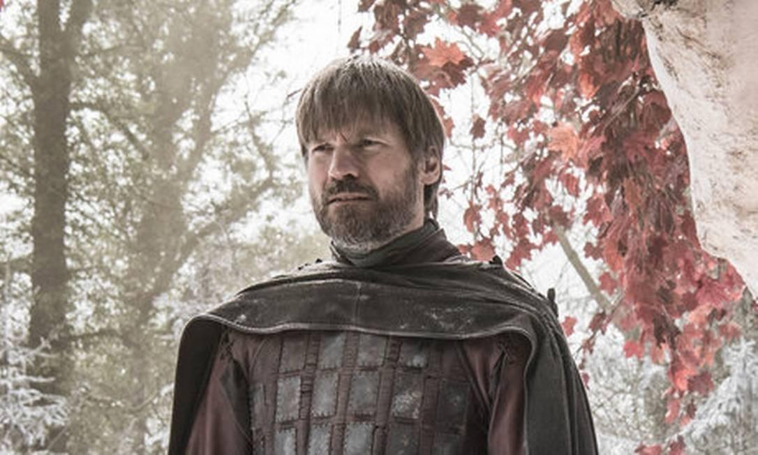Jaime Lannister (Nikolai Coster-Waldau) ficou conhecido como 'Regicida' por ter matado o rei Aerys, o Louco, em 'Game of thrones' Foto: Helen Sloan / HBO