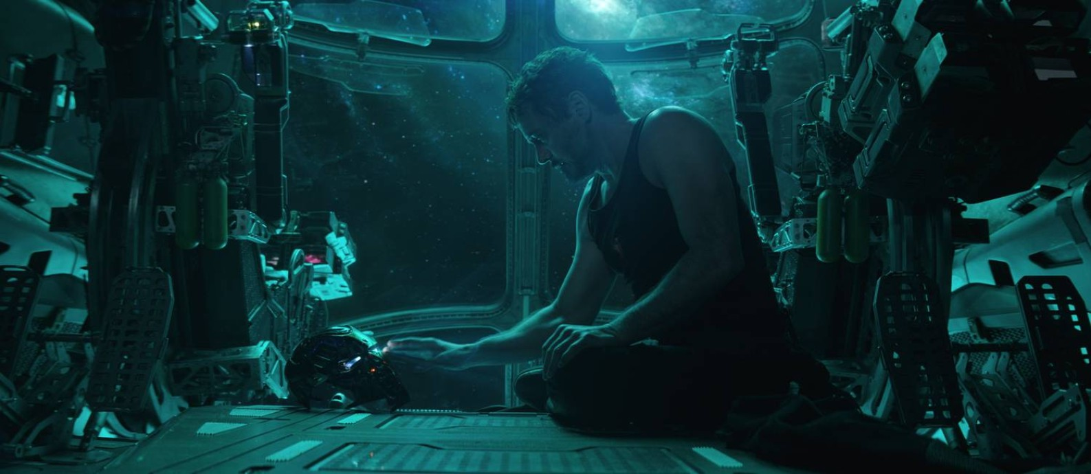 Tony Stark, o Homem de Ferro (Robert Downey Jr.), durante cena de 'Vingadores: Ultimato' Foto: null / Marvel Studios/Divulgação