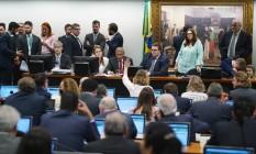 Comissão de Constituição e Justiça (CCJ) da Câmara dos Deputados Foto: Pablo Valadares / Câmara dos Deputados