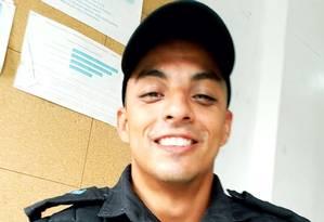 PM Anderson Galvão foi morto a tiros em Jacarepaguá Foto: Instagram / Reprodução