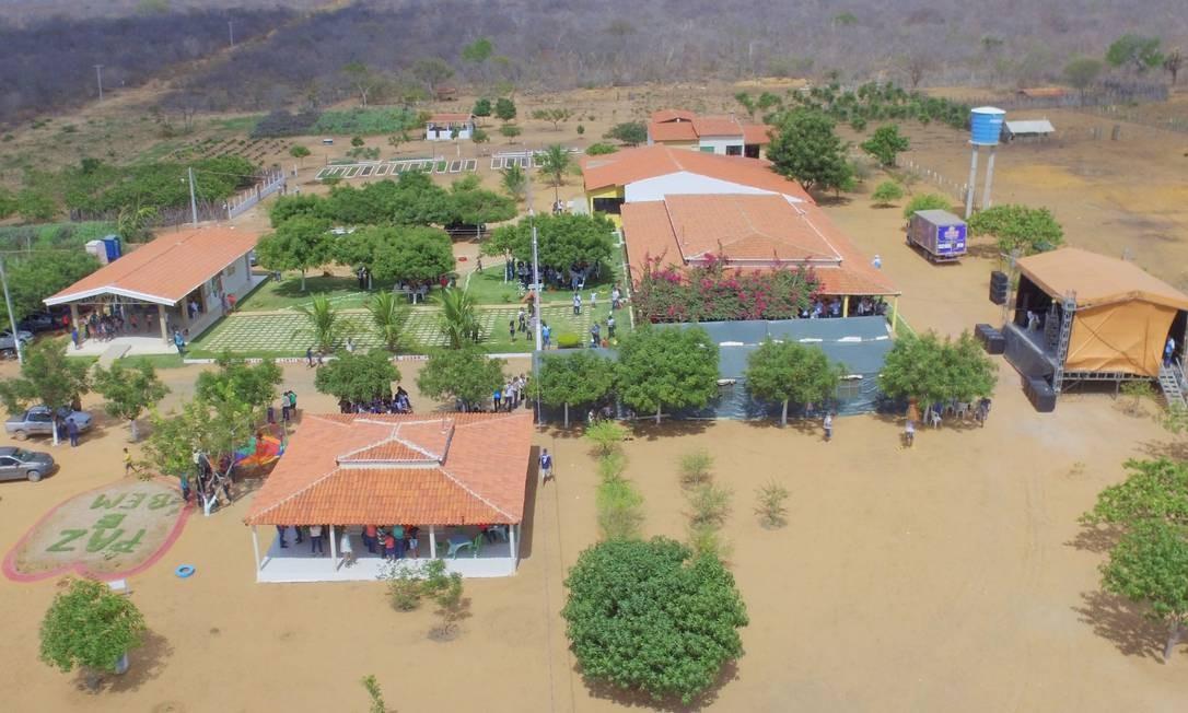 Uma das 89 unidades da Fazenda da Esperança, em Picos (PI); controlado por católicos, o grupo é o principal beneficiado por verba pública para tratamento de dependentes químicos Foto: Agência O Globo
