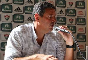 Tenório tentará candidatura para a presidência do Fluminense Foto: Nelson Perez / Nelson Perez/Fluminense FC