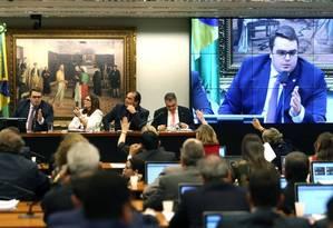 A sessão para aprovação do relatório da reforma da Previdência na CCJC da Câmara dos Deputados Foto: Jorge William / Agência O Globo