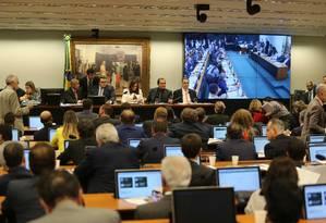 Comissão de Constituição e Justiça (CCJ) da Câmara dos Deputados Foto: Jorge William / Agência O Globo