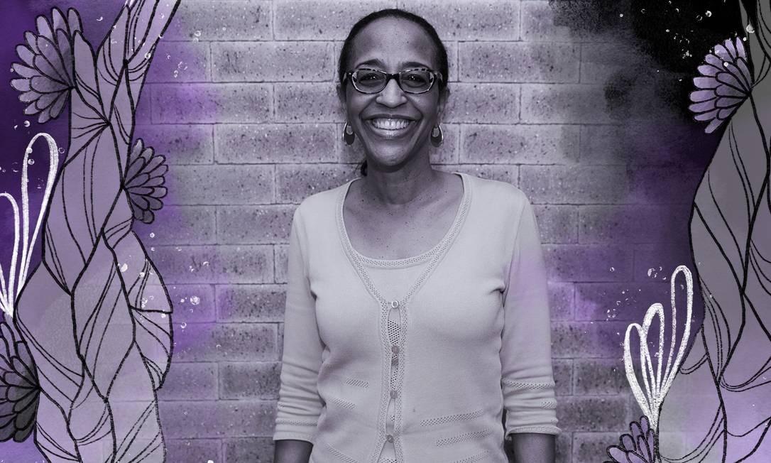 A americana Lori George Billingsley éChefe Mundial de Diversidade e Inclusão na Coca-Cola Foto: Arte sobre foto de Stella Ribeiro