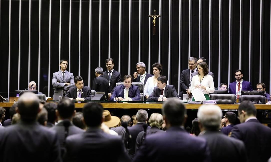 Câmara dos deputados aprova anista a partidos políticos Foto: Agência Câmara