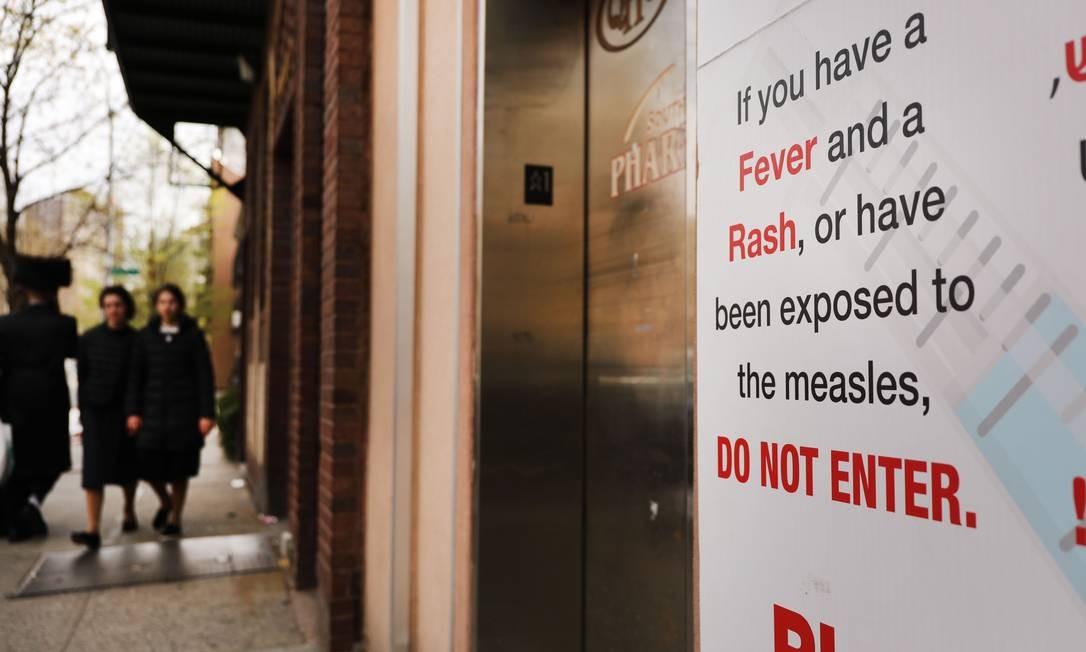 EUA registram 695 casos de sarampo, o maior número desde 2000