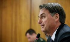 """Jair Bolsonaro reforça que a Câmara é """"soberana"""" para fazer mudanças na proposta de reforma da Previdência Foto: Isac Nóbrega/PR"""