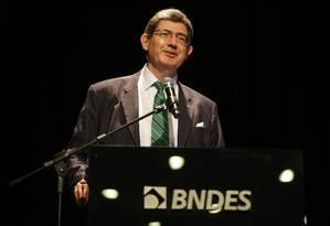Joaquim Levy, no BNDES Foto: Tânia Rêgo/Agência Brasil / Agência O Globo