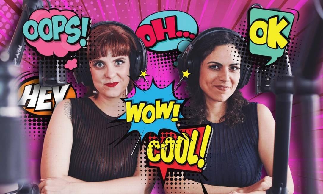 Juliana Wallauer e Cris Bartis, do Mamilos Foto: Fotos de Agê Barros / Arte de Silvana Mattievich
