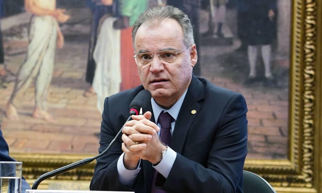 Deputado Samuel Moreira (PSDB-SP) foi oficializado relator da reforma da Previdência em sessão da comissão especial Foto: Pablo Valadares/Câmara dos Deputados