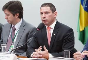 O deputado Marcelo Ramos (PR-AM), presidente da comissão especial da Previdência Foto: Pablo Valadares/Câmara dos Deputados