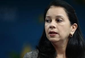 A então advogada-geral da União, Grace Mendonça, em 2017 Foto: Jorge William / Agência O Globo