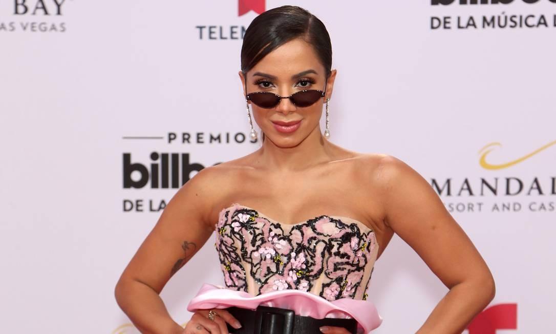 Anitta no Billboard Latin Music Awards Foto: Gabe Ginsberg / WireImage