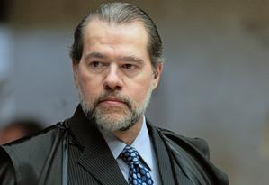 O presidente do Supremo Tribunal Federal (STF), ministro Dias Toffoli. Foto: Agência Senado