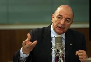 O ministro da Cidadania, Osmar Terra, disse ainda que o governo federal pretende ajudar na recuperação do Museu Nacional Foto: Marcello Casal Jr./6-02-2018 / Agência Brasil