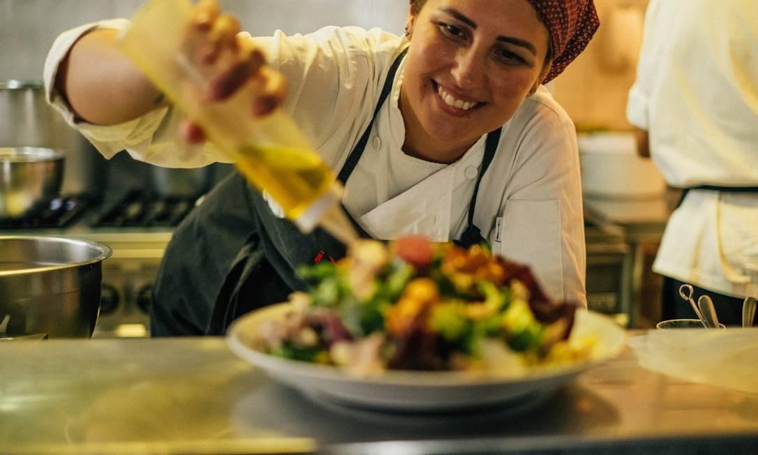 Juliana Kegler é chef do Venga! desde agosto do ano passado Foto: Divulgação