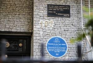 Residência de Tom Jobim é um dos pontos de parada do tour Foto: Gabriela Fittipaldi / Agência O Globo