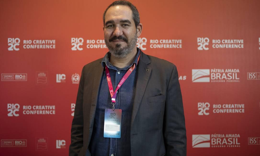 Christian de Castro, diretor-presidente da Ancine, no Rio2C Foto: Divulgação/Felipe Panfili