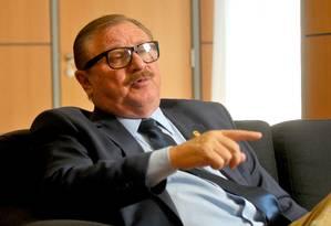 O Secretário de Assuntos Fundiários do Ministério da Agricultura, Luiz Antonio Nabhan Garcia Foto: Ruy Baron / Agência O Globo