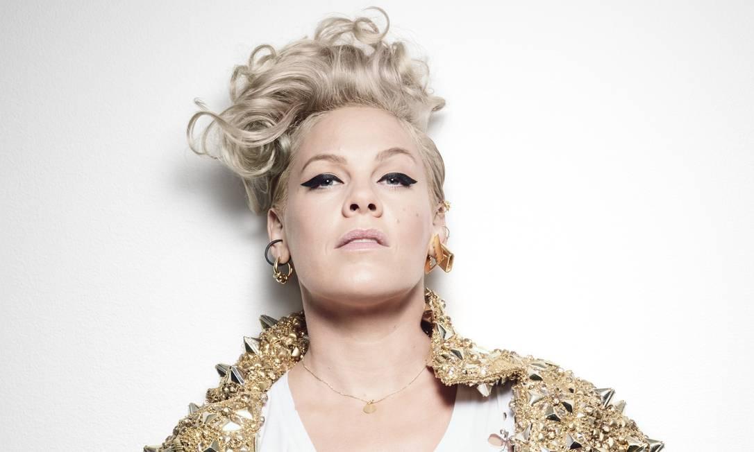 A cantora americana P!nk Foto: Sølve Sundsbø / Divulgação
