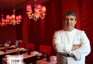 O chef Roland Villard Foto: Divulgação/21-8-2015