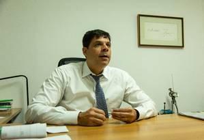 Márcio Delambert viu na confissão uma forma de guinada na estratégia de defesa do ex-governador Sérgio Cabral Foto: Brenno Carvalho / Agência O Globo