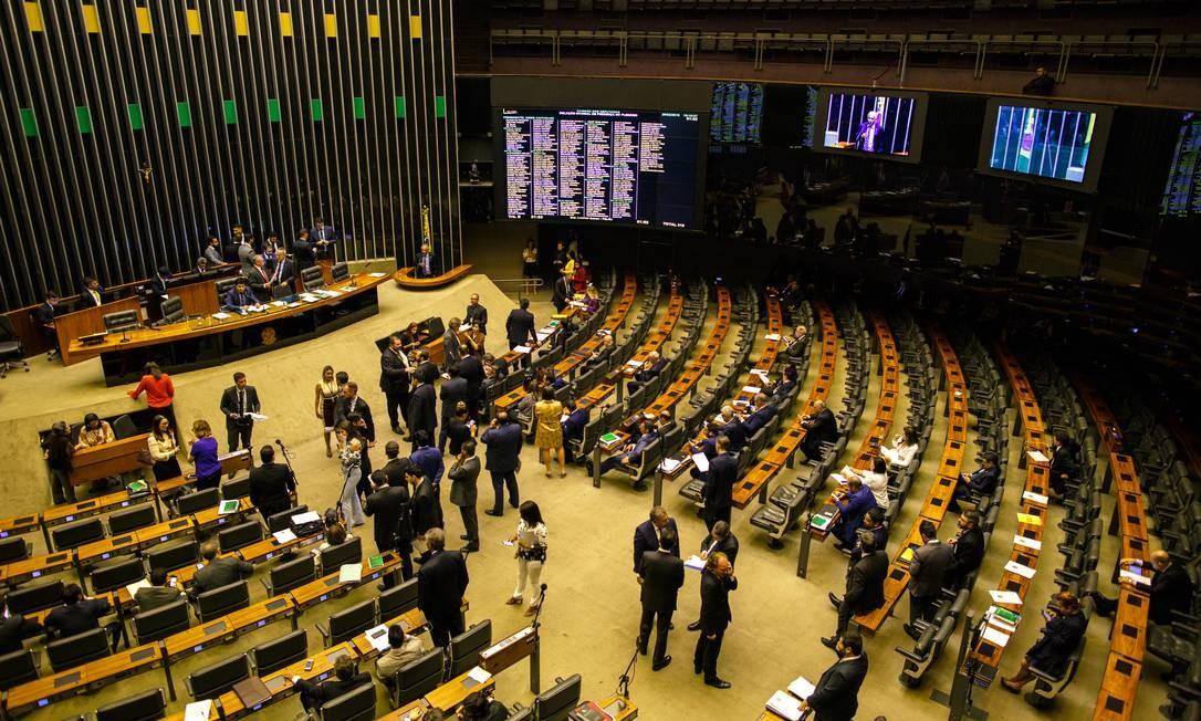 Governo já pagou R$ 942,5 milhões em emendas parlamentares este ano Foto: Daniel Marenco / Agência O Globo