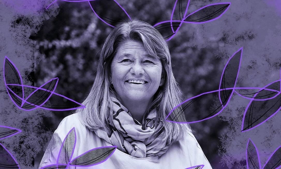 Margareth Øvrum, presidente da Equinor Brasil Foto: Arte de Luiz Lopes