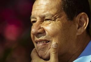 O vice-presidente Hamilton Mourão Foto: Leo Martins / Agencia O Globo Foto: Leo Martins / Agência O Globo