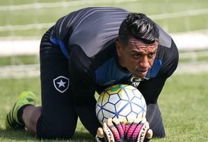Sidão, goleiro Foto: Vitor Silva / Vitor Silva/SSPress/Botafogo
