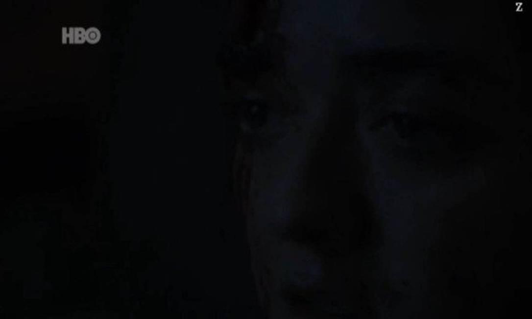 Cena do terceiro episódio desta temporada de 'Game of thrones': escuridão prejudicou entendimento dos fãs Foto: Reprodução