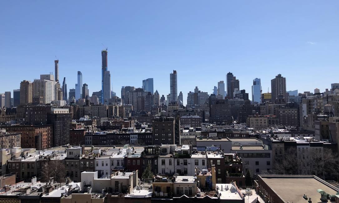 """Roth gostou do Upper West Side """"porque havia muitos judeus lá"""", anotou seu biógrafo Blake Bailey. Os livros do autor eram frequentemente ambientados na comunidade judaica de sua infância, agora muito reduzida na terra natal. Foto: James Cimino / Agência O Globo"""