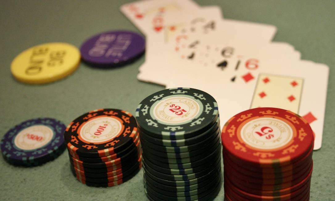 Desembargador garante a realização do Campeonato Carioca de Texas Hold'em, que acontece no Hotel Windsor Marapendi, na Barra da Tijuca Foto: Fernando Frazão / Agência O Globo