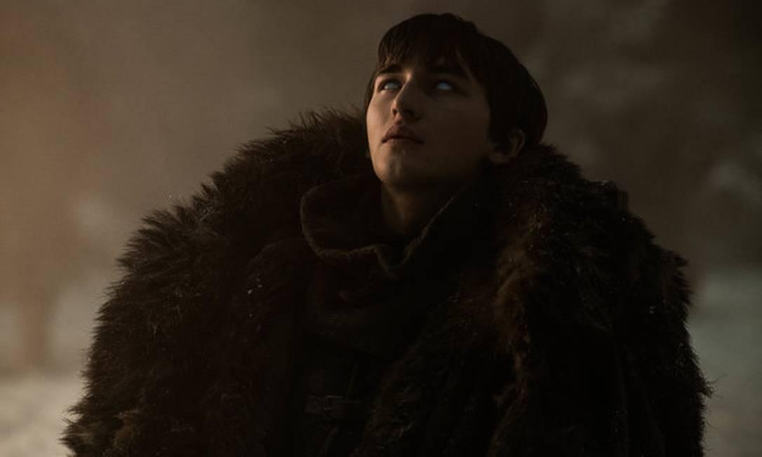 Bran durante a Batalha de Winterfell: afinal, o que ele estava fazendo enquanto a ação rolava? Foto: Divulgação/HBO