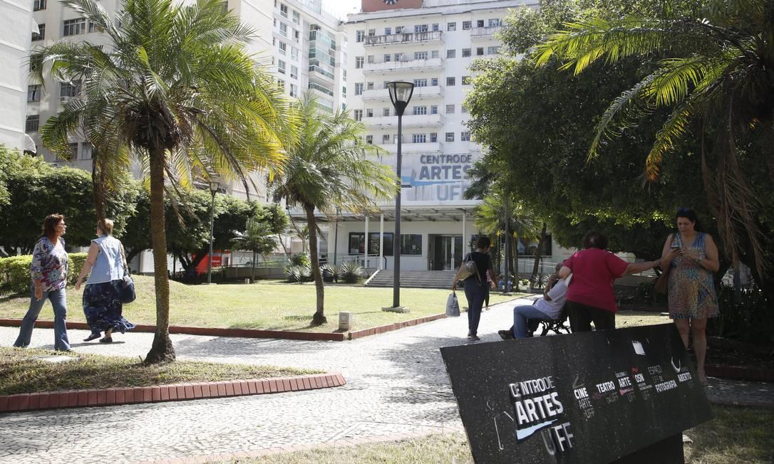 O Centro de Artes da UFF. Universidade é uma das que está na mira do ministro da Educação Foto: Fábio Guimarães / Agência O Globo