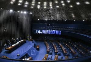 O plenário do Senado Federal, em Brasília Foto: Jorge William / Agência O Globo
