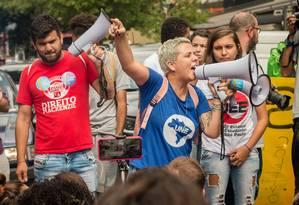 Marianna Dias foi eleita presidente da UNE em 2017 com 79% dos votos Foto: Divulgação/Karla Boughoff